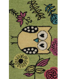 RugStudio presents Loloi Skylar Skylhsk03grye Green / Yellow Woven Area Rug