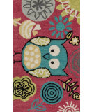RugStudio presents Loloi Skylar Skylhsk04byte Berry / Teal Woven Area Rug