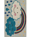 RugStudio presents Loloi Skylar SK-12 Rainbow Woven Area Rug