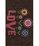 RugStudio presents Loloi Skylar SK-15 Brown / Pink Woven Area Rug