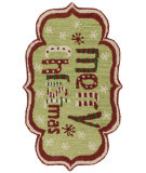 RugStudio presents Loloi Skylar SK-19 Green / Red Woven Area Rug