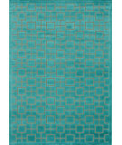 RugStudio presents Rugstudio Sample Sale 68323R Aqua Machine Woven, Better Quality Area Rug