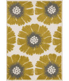 RugStudio presents Loloi Terrace TC-16 Ivory / Citron Machine Woven, Good Quality Area Rug