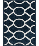 RugStudio presents Loloi Terrace Tc-20 Navy - Ivory Machine Woven, Good Quality Area Rug