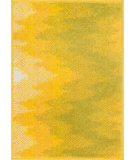 RugStudio presents Loloi Terrace TC-02 Ivory / Citron Machine Woven, Good Quality Area Rug