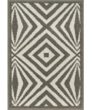 RugStudio presents Loloi Terrace Terchtc04ivgy Ivory / Grey Machine Woven, Good Quality Area Rug
