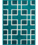 RugStudio presents Loloi Terrace Terchtc10pxiv Peacock / Ivory Machine Woven, Good Quality Area Rug