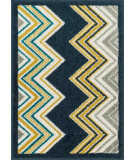 RugStudio presents Loloi Terrace Terchtc11nvml Navy / Multi Machine Woven, Good Quality Area Rug