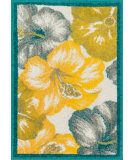 RugStudio presents Loloi Terrace TC-12 Ivory / Multi Machine Woven, Good Quality Area Rug