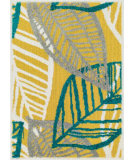 RugStudio presents Loloi Terrace TC-16 Citron / Multi Machine Woven, Good Quality Area Rug