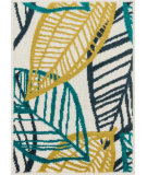RugStudio presents Loloi Terrace TC-17 Ivory / Tropical Machine Woven, Good Quality Area Rug