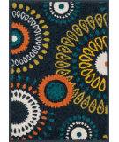 RugStudio presents Loloi Terrace TC-18 Navy / Multi Machine Woven, Good Quality Area Rug