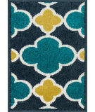 RugStudio presents Loloi Terrace TC-19 Navy / Teal Machine Woven, Good Quality Area Rug
