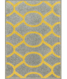 RugStudio presents Loloi Terrace TC-20 Grey / Citron Machine Woven, Good Quality Area Rug