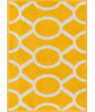 RugStudio presents Loloi Terrace TC-20 Lemon / Ivory Machine Woven, Good Quality Area Rug