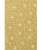 RugStudio presents Loloi Tilley Tillhti01griv Green / Ivory Machine Woven, Good Quality Area Rug