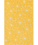 RugStudio presents Loloi Tilley TI-01 Yellow / Ivory Machine Woven, Good Quality Area Rug