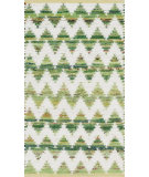 RugStudio presents Loloi Vivian VI-01 Light Green Woven Area Rug