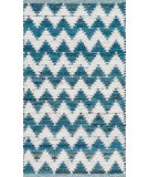 RugStudio presents Loloi Vivian VI-01 Teal Woven Area Rug
