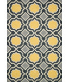 RugStudio presents Loloi Weston Hws01 Charcoal / Gold Area Rug