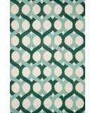 RugStudio presents Loloi Weston Hws04 Blue / Green Area Rug