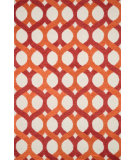 RugStudio presents Loloi Weston Hws04 Red / Orange Area Rug