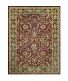 RugStudio presents Loloi Hyde HY-01 Burgundy Charcoal Hand-Tufted, Best Quality Area Rug