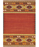 RugStudio presents Loloi Isara Ia-01 Red / Gold Flat-Woven Area Rug