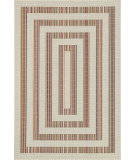 RugStudio presents Loloi Ibiza Ib-02 Ivory / Multi Machine Woven, Good Quality Area Rug