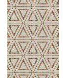 RugStudio presents Loloi Ibiza Ib-08 Ivory / Multi Machine Woven, Good Quality Area Rug