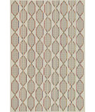 RugStudio presents Loloi Ibiza Ib-09 Ivory / Multi Machine Woven, Good Quality Area Rug
