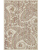 RugStudio presents Loloi Ibiza Ib-11 Ivory / Multi Machine Woven, Good Quality Area Rug