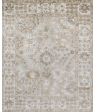RugStudio presents Loloi Imperial Im-02 Silver - Ivory Hand-Knotted, Best Quality Area Rug