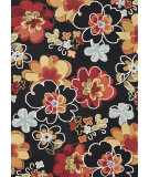 RugStudio presents Loloi Juliana JL-07 Black - Multi Hand-Hooked Area Rug