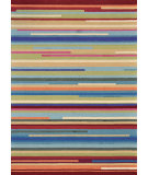 RugStudio presents Loloi Juliana Jl-10 Multi Stripe Hand-Hooked Area Rug