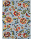 RugStudio presents Loloi Juliana JL-11 Sky Blue Hand-Hooked Area Rug
