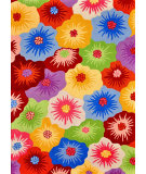 RugStudio presents Loloi Juliana JL-15 Multi - Floral Hand-Hooked Area Rug