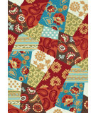 RugStudio presents Loloi Juliana Jl-23 Rust / Patch Hand-Hooked Area Rug