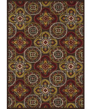 RugStudio presents Loloi Juliana Jl-26 Brown / Gold Hand-Hooked Area Rug