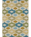 RugStudio presents Loloi Juliana Jl-29 Ivory / Sage Hand-Hooked Area Rug