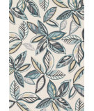 RugStudio presents Loloi Juliana JL-34 Ivory / Grey Hand-Hooked Area Rug