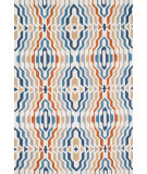 RugStudio presents Loloi Juliana Julijl-36 Ivory / Multi Hand-Hooked Area Rug
