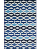 RugStudio presents Loloi Juniper JN-03 Ivory / Blue Machine Woven, Good Quality Area Rug