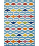 RugStudio presents Loloi Juniper JN-03 Ivory / Multi Machine Woven, Good Quality Area Rug