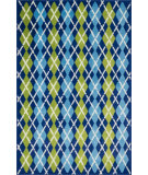RugStudio presents Loloi Juniper JN-04 Blue / Multi Machine Woven, Good Quality Area Rug