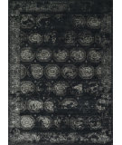 RugStudio presents Loloi Journey Jourjo-08 Black / Charcoal Machine Woven, Good Quality Area Rug
