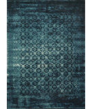 RugStudio presents Loloi Journey Jourjo-10 Indigo / Blue Machine Woven, Good Quality Area Rug