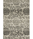 RugStudio presents Loloi Jaxx Jx-01 Beige / Charcoal Machine Woven, Good Quality Area Rug