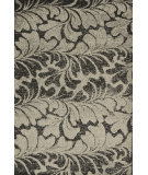 RugStudio presents Loloi Jaxx Jx-02 Charcoal / Beige Machine Woven, Good Quality Area Rug