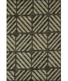 RugStudio presents Loloi Jaxx Jx-03 Charcoal / Green Machine Woven, Good Quality Area Rug